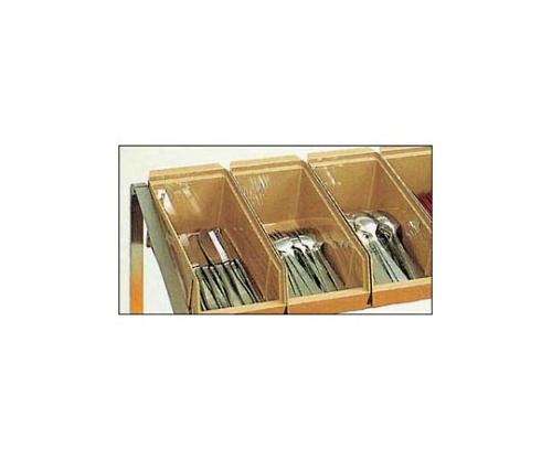 トレイ&シルバーディスペンサー オーガナイザータイプ MEX-1418-CB 6908600