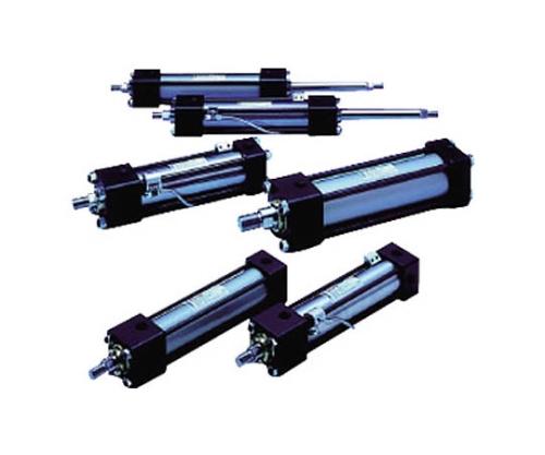 16MPa複動油圧形シリンダ スイッチセット ニトリルゴムパッキン ロッド側トラニオン形