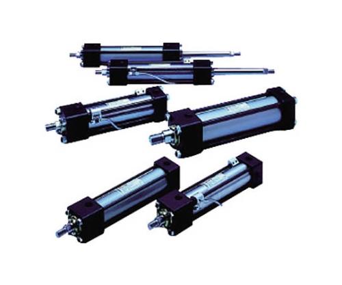 16MPa複動油圧形シリンダ スイッチセット ウレタンゴムパッキン 軸直角方向フート形 160H1R2LA100BB250ABAH2
