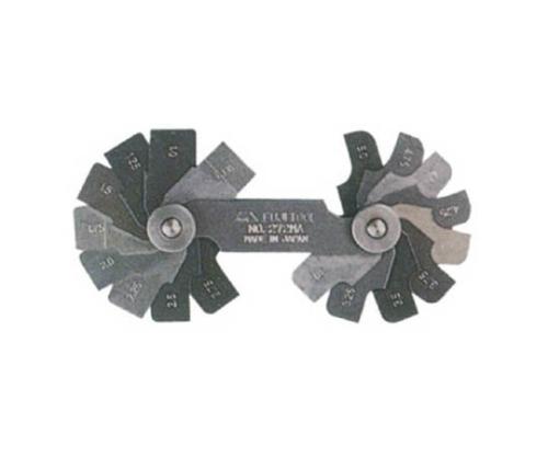ラジアスゲージ角型 測定サイズ41.0~50.0 枚数20