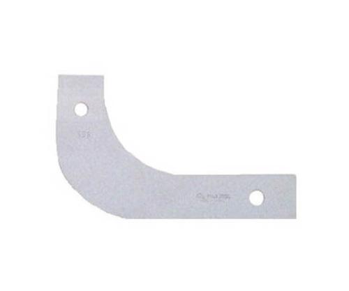 大型ラジアスゲージ角型 測定サイズ71.0~80.0 枚数10