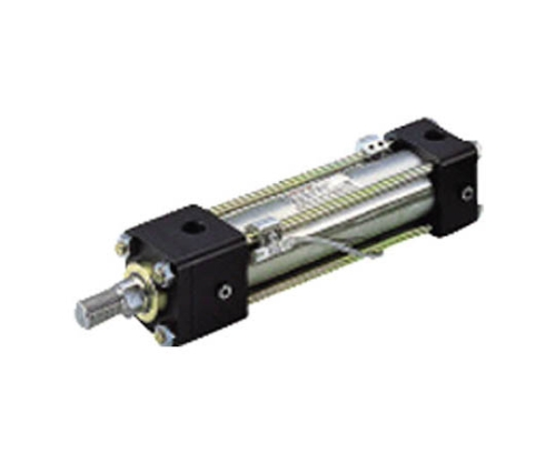 7MPa用複動形油圧シリンダ スイッチセット ニトリルゴムパッキン ロッド側長方形フランジ形 70H8R1FY50BB300ABAH2