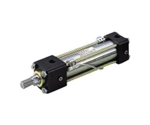 7MPa用複動形油圧シリンダ スイッチセット ニトリルゴムパッキン ロッド側長方形フランジ形 70H8R1FY40BB300ABAH2
