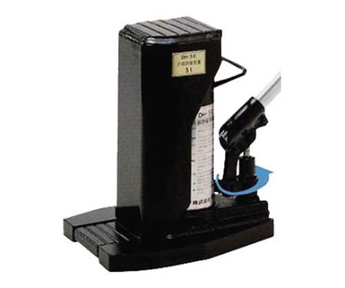 油圧爪つきジャッキレバー回転式