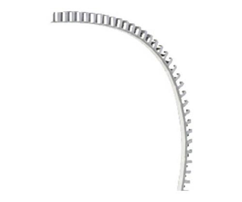 FLタイプ配線ダクト(ポリプロピレン製ノンハロゲン)ライトグレー