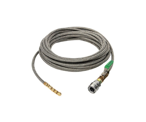 SUS洗管ホース 13/150G用 20m ワンタッチカプラ HD10009