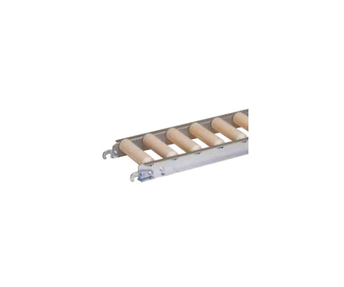 樹脂ローラコンベヤ JRAU4208型 100W×75P JRAU4208100710