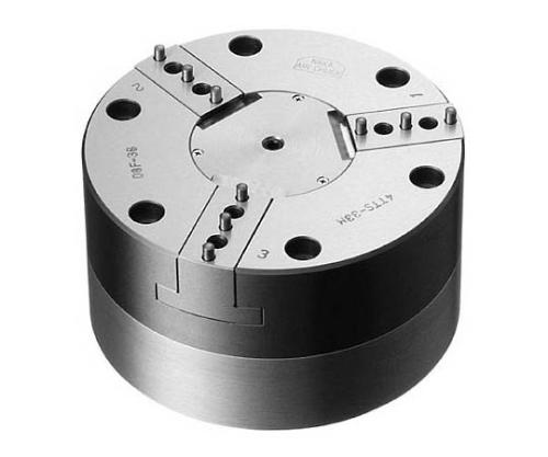 エアチャック 4インチ 回転オイルミスト型 NPC4TTS33M