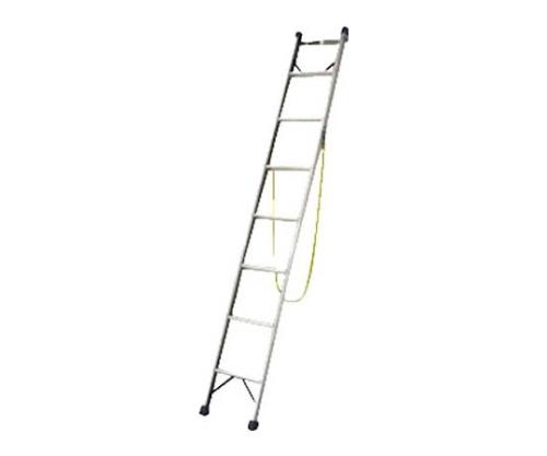 電柱はしごSWK型 電柱支え・巻付けベルト標準装備