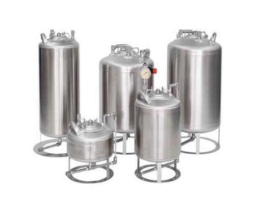 液面計付ステンレス加圧容器