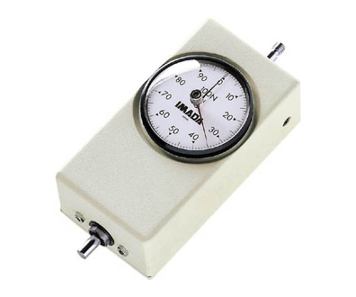 [取扱停止]特殊型メカニカルフォースゲージ引張専用コンパクトタイプ UKT50N