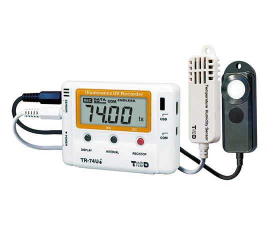 [Discontinued]Ultraviolet Illuminance Thermo-Hygro Data Logger (High Accuracy) TR-74Ui-H