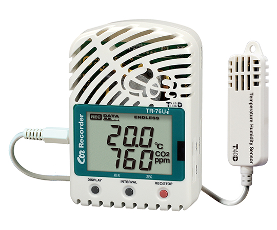 CO2 Thermo-Hygro Data Logger and others