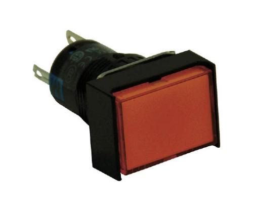 φ16長角形照光押しボタンスイッチ AL6H-M14G