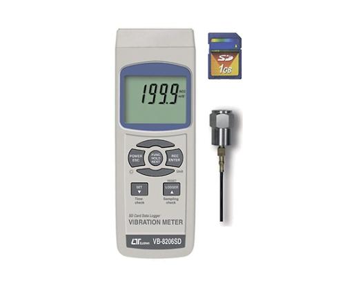 Data Logger Digital Vibrometer VB-8206SD