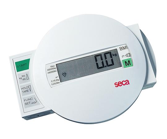 [取扱停止]デジタルベッドスケールトロリー付[検定付]3級 seca985