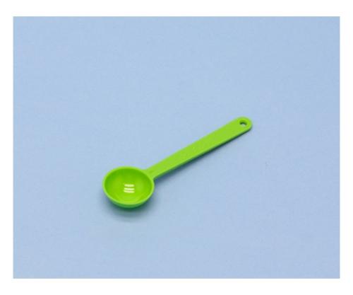 キッチンスプーン 5型 グリーン 210366