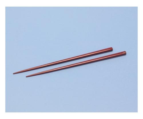 金剛箸 22.5cm レッド 211257