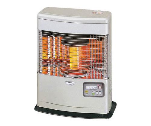 [取扱停止]FF式石油暖房機 コンパクトタイプ クールトップ シルクシルバー FFR554BLMSS
