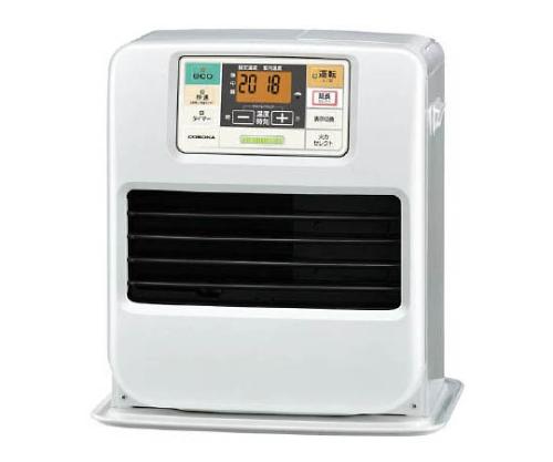 [取扱停止]石油ファンヒーター 0.66~3.30kW/h パールホワイト 9.7kg FHST3315YW
