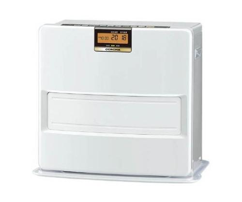 [取扱停止]石油ファンヒーター 0.72~4.62kW/h パールホワイト 13.4kg FHVX4615BYW