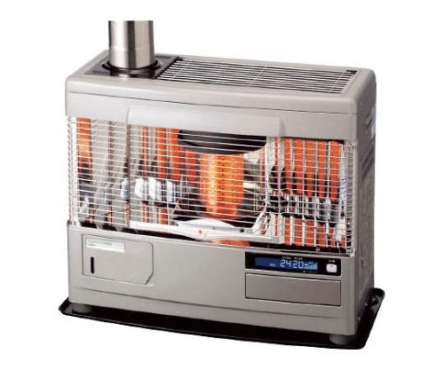 床暖内蔵タイプ石油暖房機 シルバーグレー 30kg UFH779UKCMSG