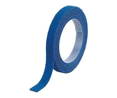 マジックバンド結束テープ 両面 幅10mmX長さ10m 青 MKT-10100-B
