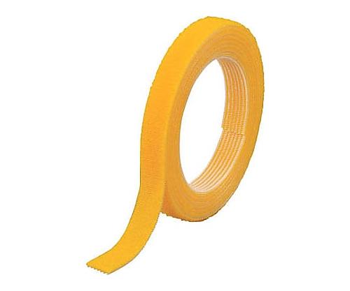 マジックバンド結束テープ 両面 幅10mmX長さ5m 黄
