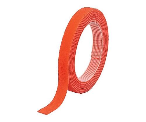 マジックバンド結束テープ 両面 幅20mmX長さ10m オレンジ MKT-20100-OR