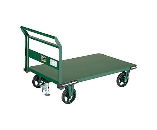 鋼鉄製運搬車 1400X750 Φ200鋳物車輪 LS付 等