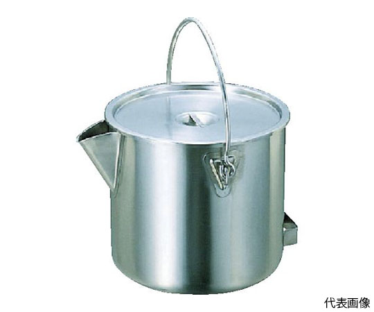 18-8 Pot type Bucket (with lid) 20L and others