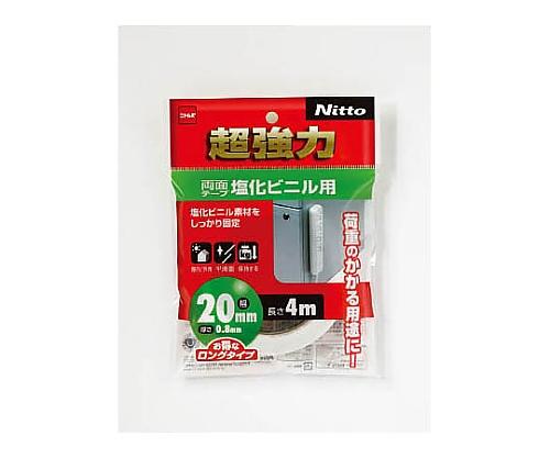 超強力両面テープ塩化ビニル用20×4 T4583