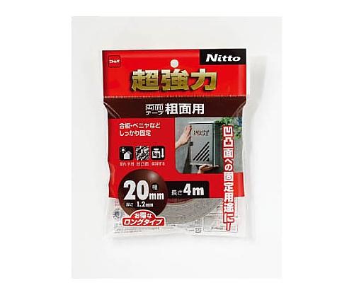 超強力両面テープ粗面用20×4 T4593
