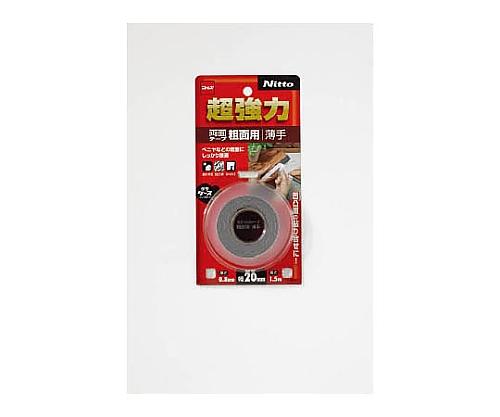 超強力両面テープ粗面用薄手20×1.5 T4601