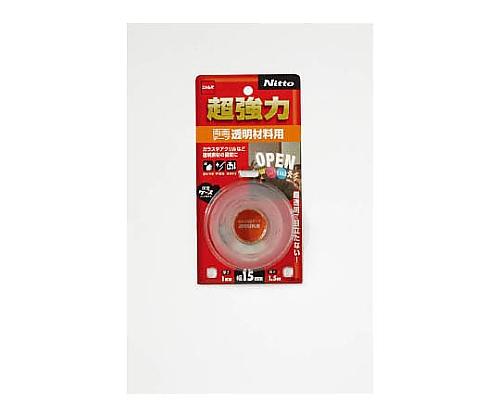 超強力両面テープ透明材料用15×1.5 T4610