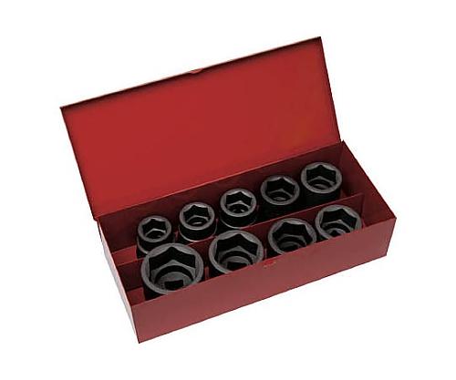 インパクト用ソケット9個組セット 差込角19.0mm T6-9SET
