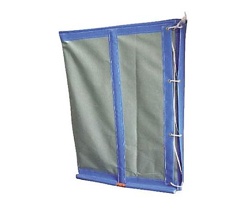 収集袋 フレコンスタンド 830×830×1100 グリーン WF01