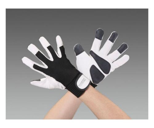 手袋(豚革/あて付)