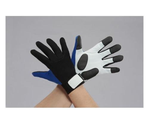 手袋(牛革/青) [LL]