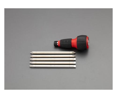 65mm[+-]ドライバーセット(差替式・ラチェット式)