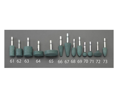 6角軸軸付砥石(ストレート/GC)