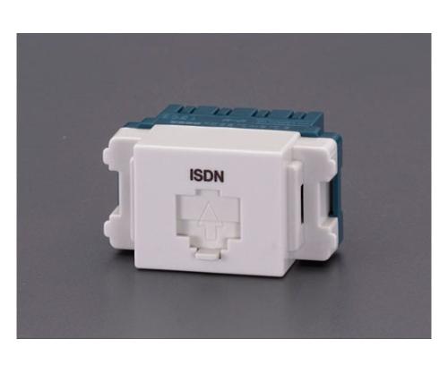 モジュラージャック(ISDN用/終端用)埋込型 EA940CE-174