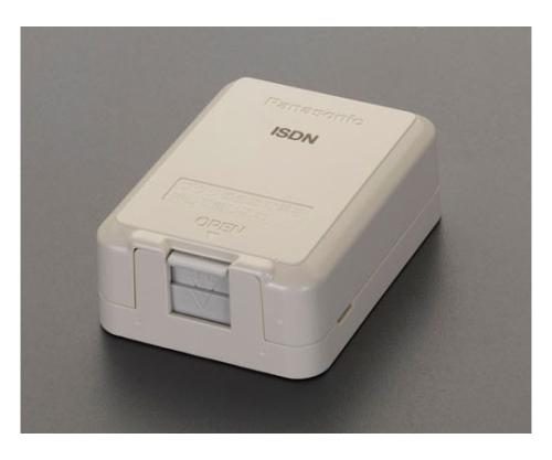 モジュラージャック(ISDN用)露出型 EA940CE-175