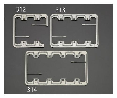 はさみ金具(ボード用) [3連用] EA940CE-313
