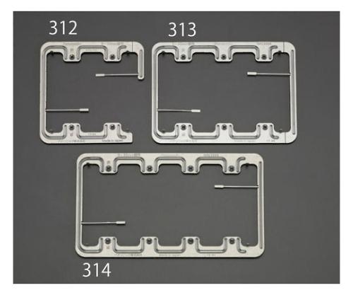 はさみ金具(ボード用) [4連用] EA940CE-314