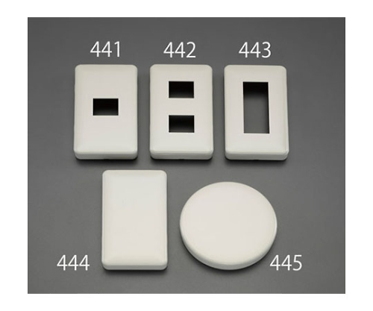 カバープレート(腰高/3個/1列) EA940CE-443