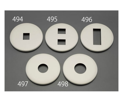 [1個用]プレート(大型/樹脂製) 80×130×7(T)mm EA940CEシリーズ