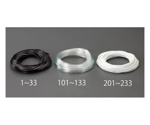 ビニール絶縁チューブ(黒) 3.0x0.4mmx50m EA944AE-2