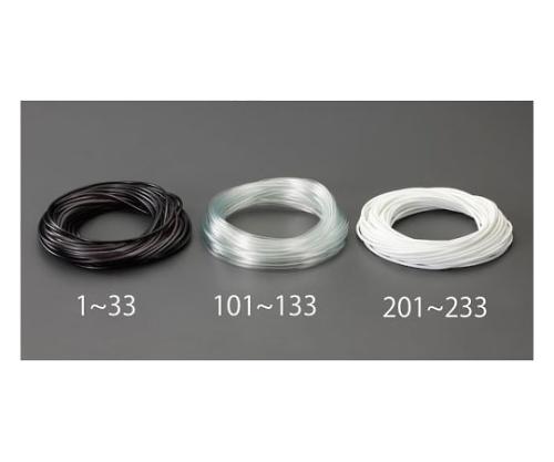 ビニール絶縁チューブ(黒) 4.0x0.4mmx100m EA944AE-13