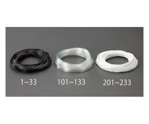 ビニール絶縁チューブ(黒) 6.0x0.4mmx20m EA944AE-31